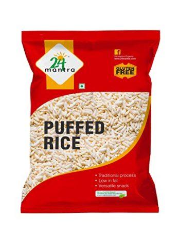 24 Mantra Organic Natural Puffed Rice Organic, 200g