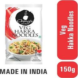 Ching's Secret Veg Hakka Noodles Vegitarian(150g)