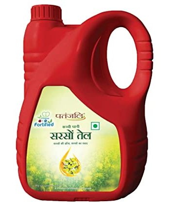 Patanjali Mustard Oil – 5Ltr