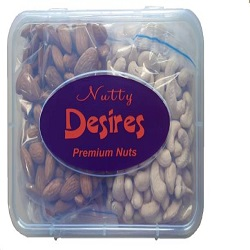 Nutty Desires Combo Cashews and California almonds (250g)