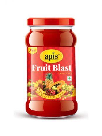 APIS FRUIT BLAST JAM 450GM
