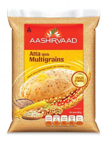 Aashirvaad Atta with Multigrains, 5kg