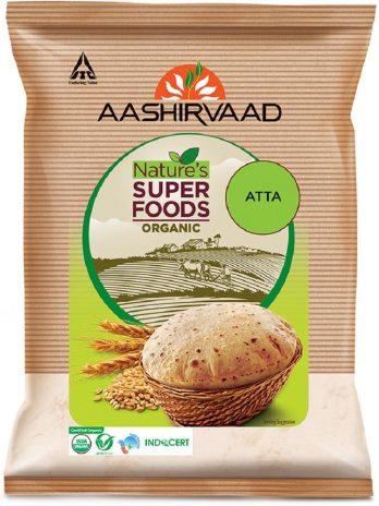 Aashirvaad Organic Atta, 1 Kg