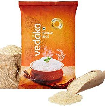 Amazon Brand – Vedaka Dubar Rice, 5 kg