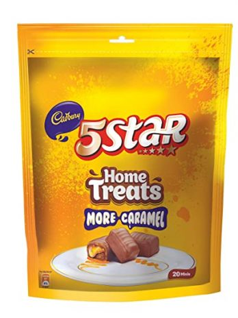 Cadbury 5 Star Chocolate Home Treats, 202g 105/-