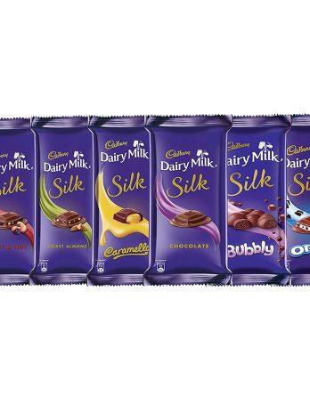Cadbury Assorted Dairy Milk Silk, 340g 383/-