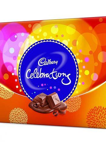 Cadbury Celebrations Gift Pack, 215g (Assorted Chocolates)115/-
