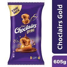 Cadbury Choclairs Gold Birthday Pack (110 Candies), 605 gm 174/-