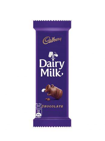 Cadbury Dairy Milk Chocolate Bar, 24 g 20/-
