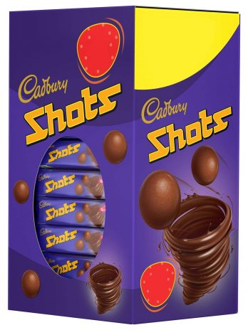Cadbury Dairy Milk Chocolate Shots Carton 208g 116/-