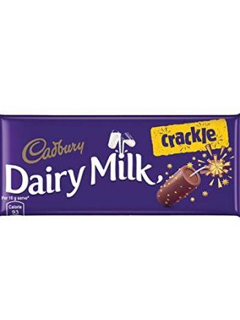 Cadbury Dairy Milk Crackle Chocolate Bar, 36 g 44/-