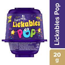 Cadbury Dairy Milk Lickables POP Chocolate, 20 g 40/-