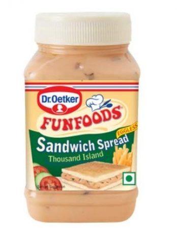 DR. OETKER FUN FOODS SANDWICH SPREAD THOUSAND ISLAND 300G