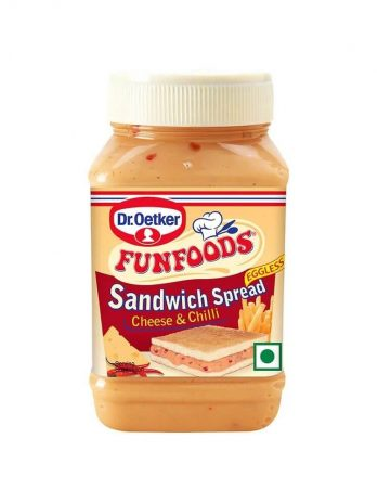 DR. OETKER FUN FOODS  SPREAD CHEESE CHILL 275G