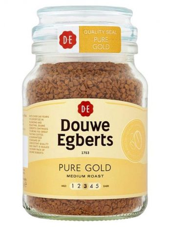 Douwe Egberts Pure Gold Instant Coffee, 95 g