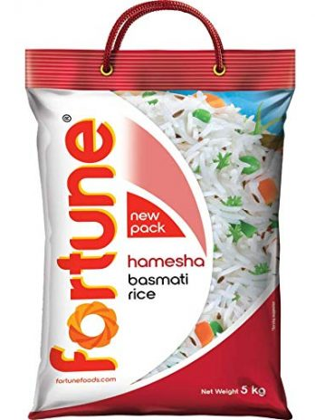 Fortune Hamesha Basmati Rice, suitable for daily cooking, 5 Kg
