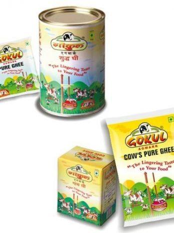 GOKUL SHUDH DESI GHEE 500ML TIN