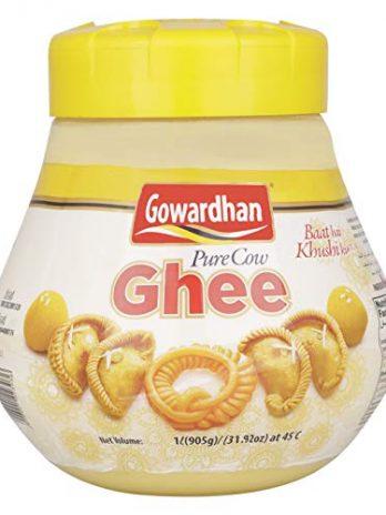 GOWARDHAN PURE COW DESI GHEE 1LTR TETRAPACK