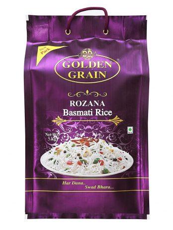 Golden Grain Rozana Basmati Rice, 5KG