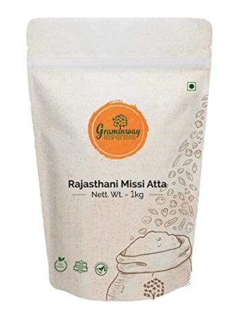 Graminway Rajasthani Missi Atta 1 Kg ( Pack of 1)