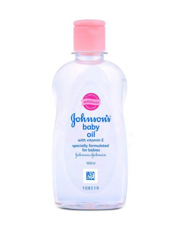 JOHNSONS BABY OIL with Vitamin E 100ML