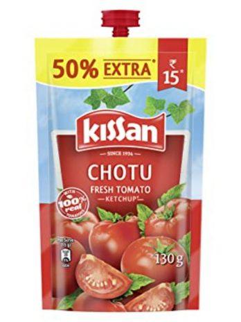KISSAN FRESH TOMATO KETCHUP 130 G