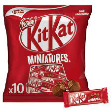 KITKAT Crispy Wafer Finger Covered with Milk Chocolate, 110g 680/-