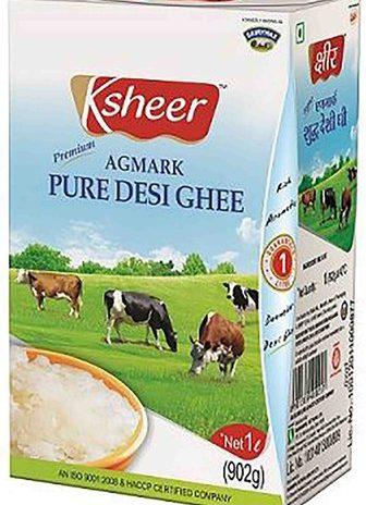 Ksheer Pure Desi White Ghee 1ltr