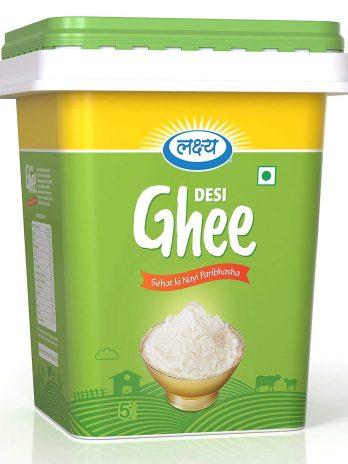 LAKSHYA 100% Pure Desi Ghee Clarified Butter 2LTR