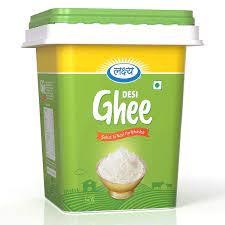 LAKSHYA 100% Pure Desi Ghee Clarified Butter 5LTR