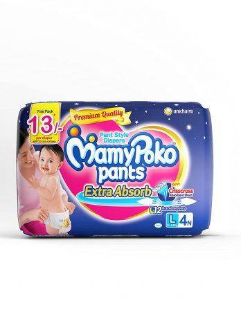 MAMY POKO Standard Diaper PANTS Large 4pants