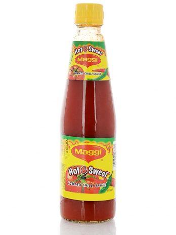Maggi Tomato Chilli Sauce – Hot and Sweet, 500g Bottle