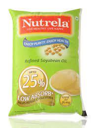 NUTRELLA REFINED SOYABEAN OIL 1LTR