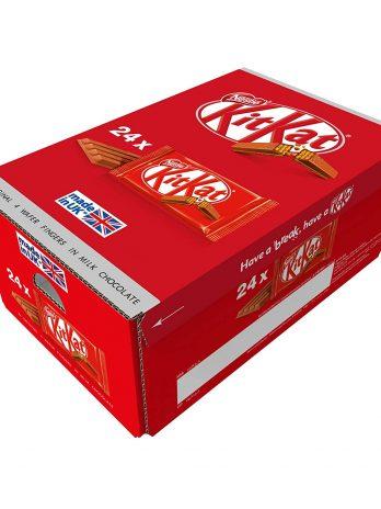 Nestle 4 Wafer Fingers in Milk Chocolate KitKat Box, 24 x 41.5 g 1315/-