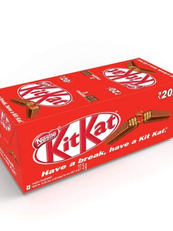 Nestle Kitkat 3 Fingers Bar- 770g (Pack of 28), 27.5g Each 559/-