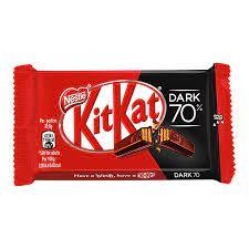 Nestle Kitkat 70% Dark Chocolate, 4 x 41.7 g 360/-