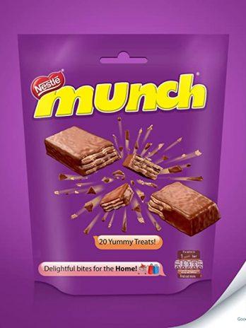 Nestle Munch Chocolate Coated Crunchy Wafer, 22g 100/-