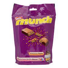 Nestle Munch Crunchilicious Chocolate 28PC Box Pack 120/-