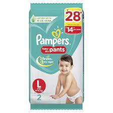 PAMPER Large Diaper Pants 2pcs