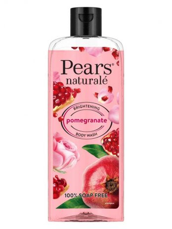 Pears Naturale Brightening Pomegranate Bodywash With Glycerine, Paraben Free, Soap Free,