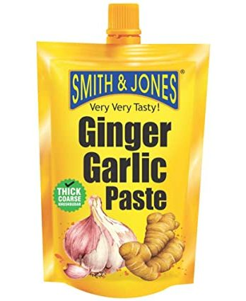 SMITH & JONES 100 GM GINGER GARLIC PASTE