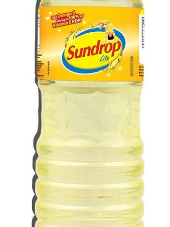 SUNDROP LITE REFINED SUNFLOWER OIL 1LTR