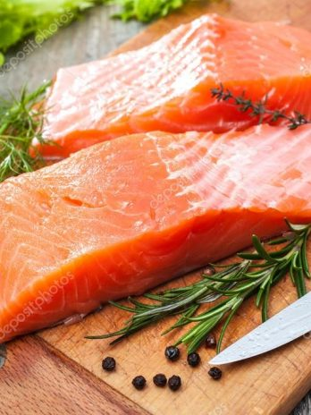 Salmon Fish 1Kg – Salmon Fish In Kolkata – Bisarga Fishkart