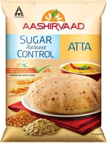 Aashirvaad Sugar Release Control Atta, 5kg