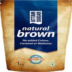 Uttam Sugar Natural Brown Sugar  (1 kg)