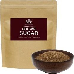 organic forest Country Side Brown Sugar 2Kgs , Mineral Rich , Raw , Luscious Sugar Sugar  (2 kg)