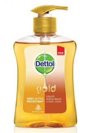Dettol Gold Hand Wash – 250 ml