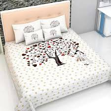 Tree Print bed cover