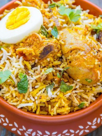 Chicken Biryani-Indian-Rice-Dish (For 2-Persons)