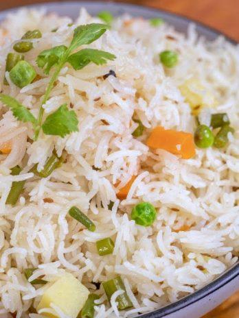 Veg Pulao – Bisarga Food Takeway